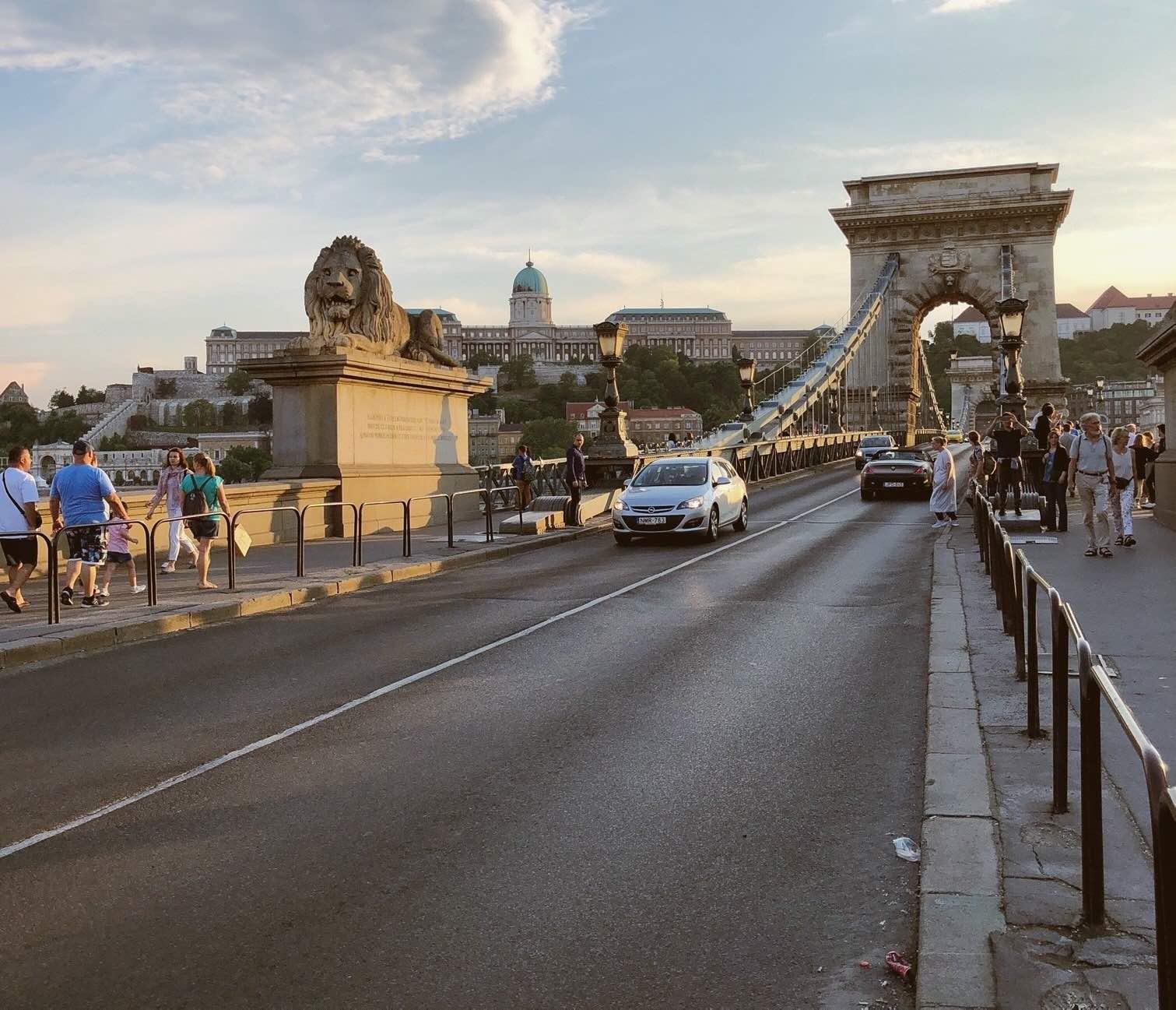 Budapest - Puente Cadenas