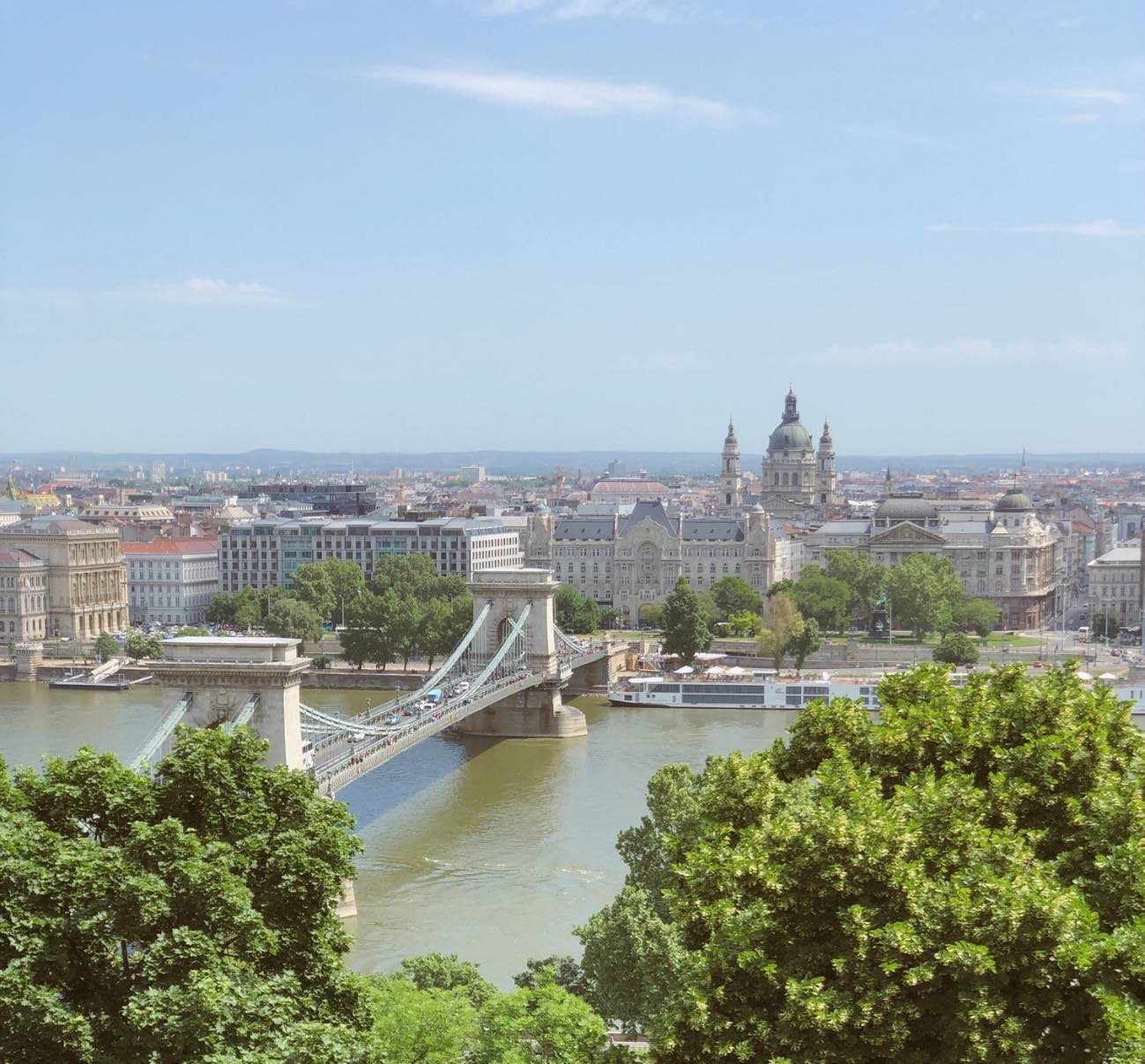 Budapest - Vistas desde Pest