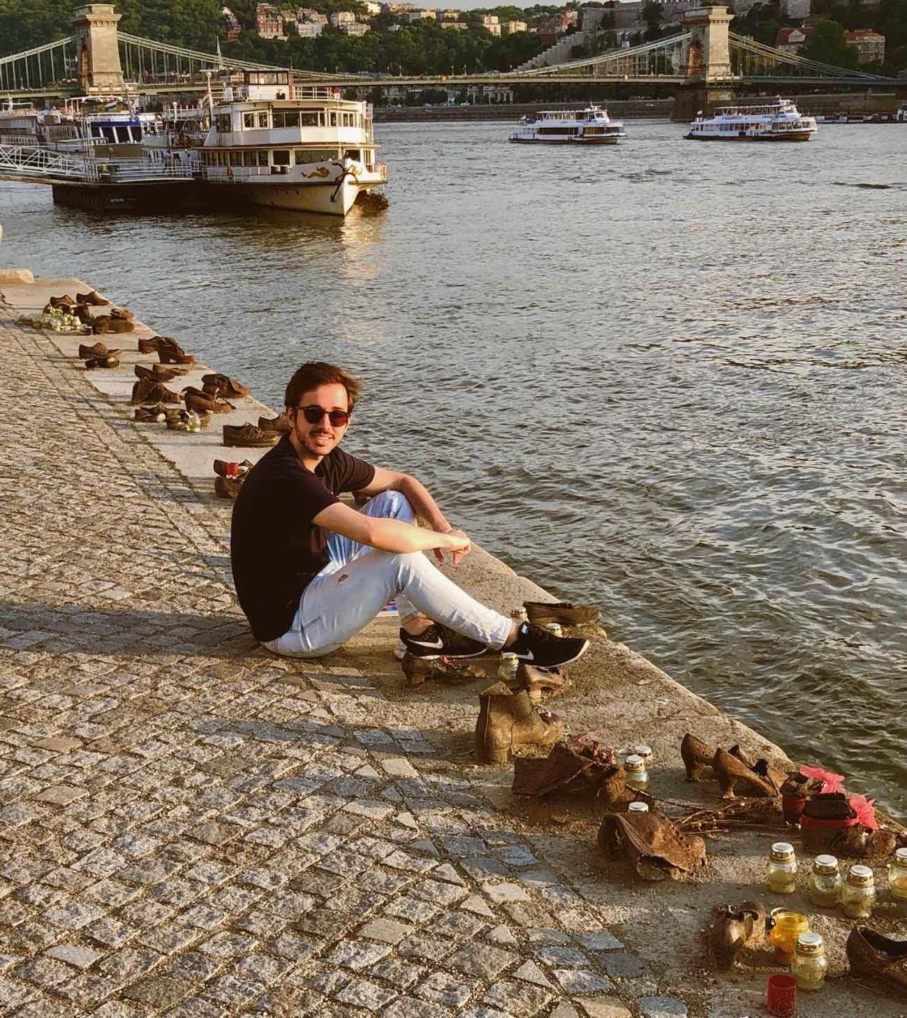 Budapest - zapatos danubio