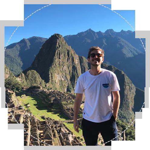 Conoce Passport Marks Antonio en Machu Pichu