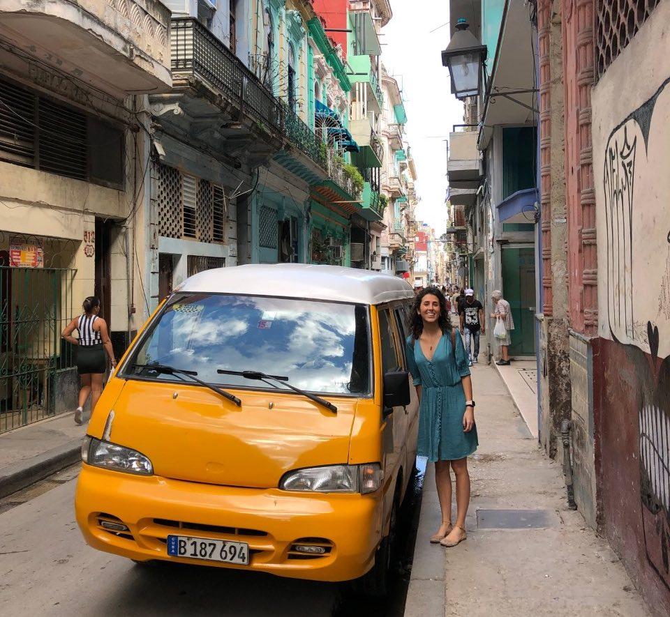 Como moverse por Cuba taxi colectivo