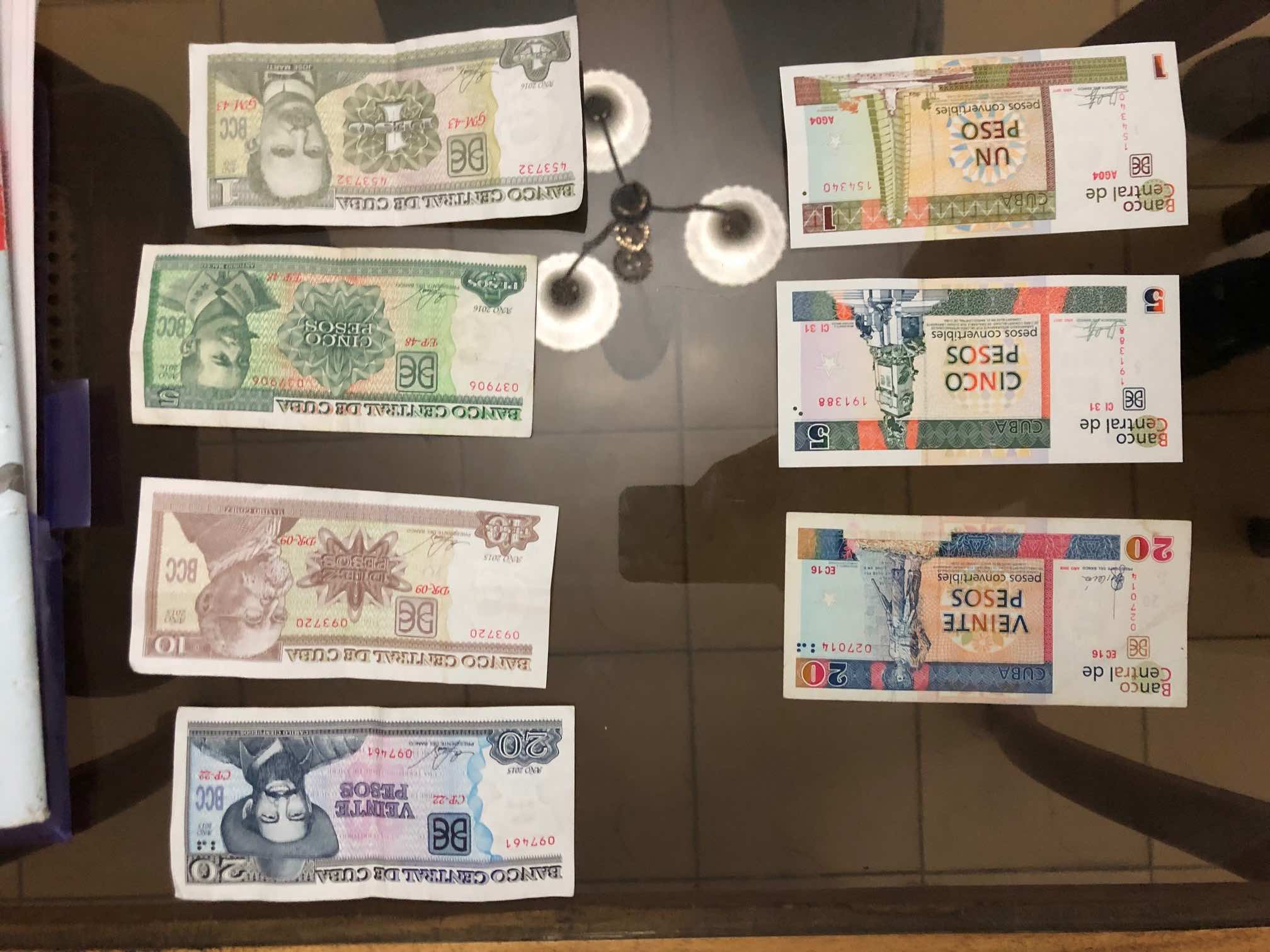 Curiosidades sobre Cuba dinero