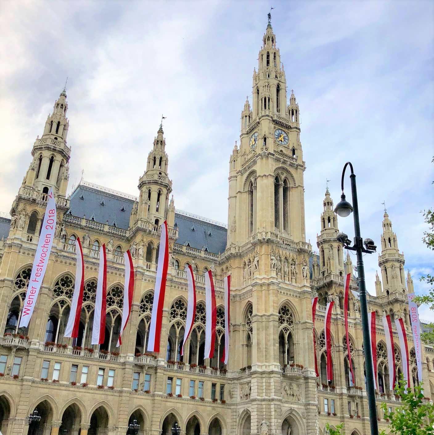 Que ver y hacer en Viena ayuntamiento rathaus