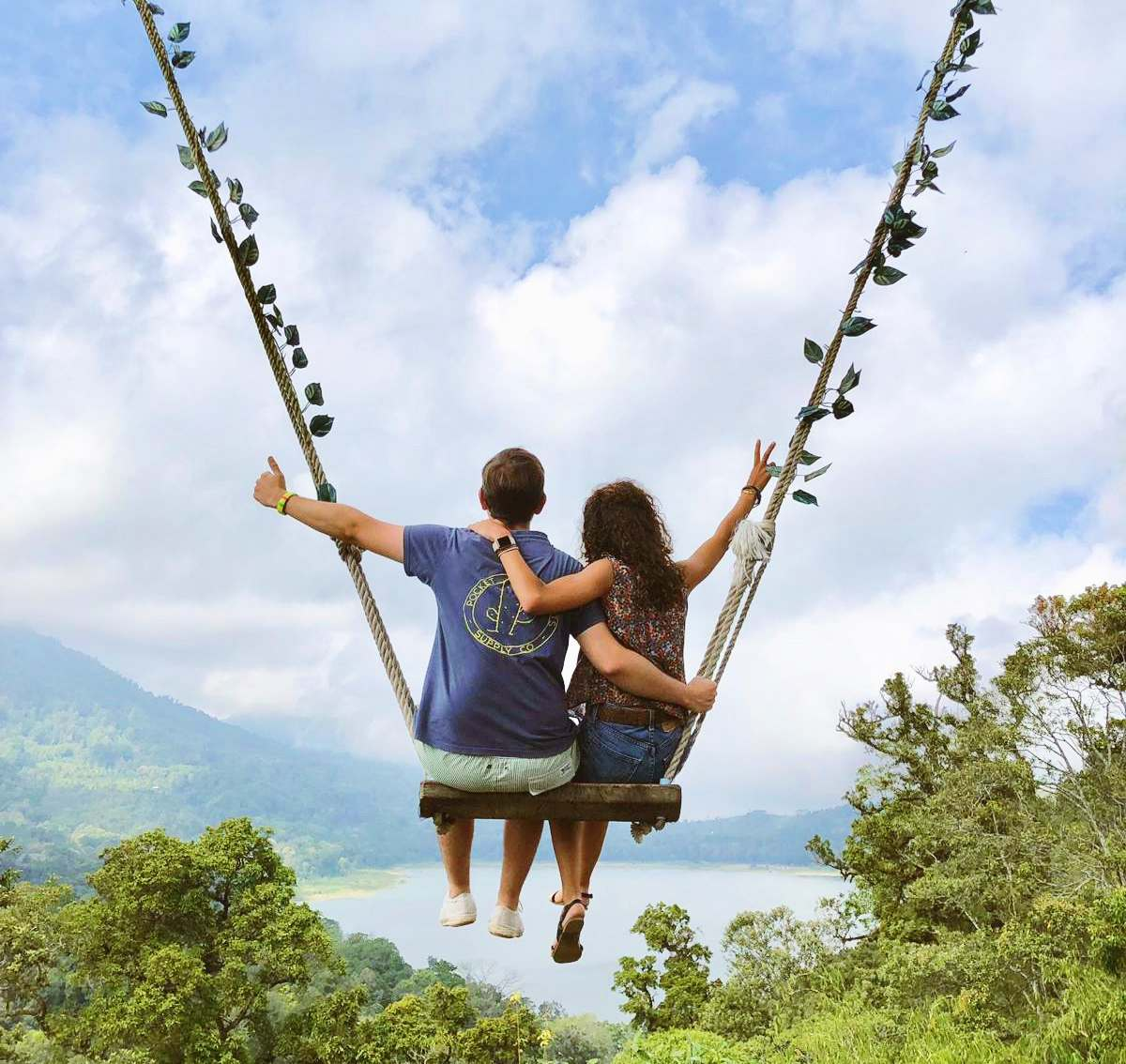 Guía de Bali - mejores columpios