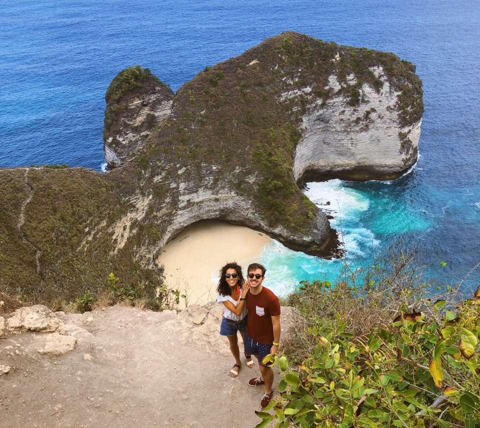 Que ver en Bali - Kelingking Beach