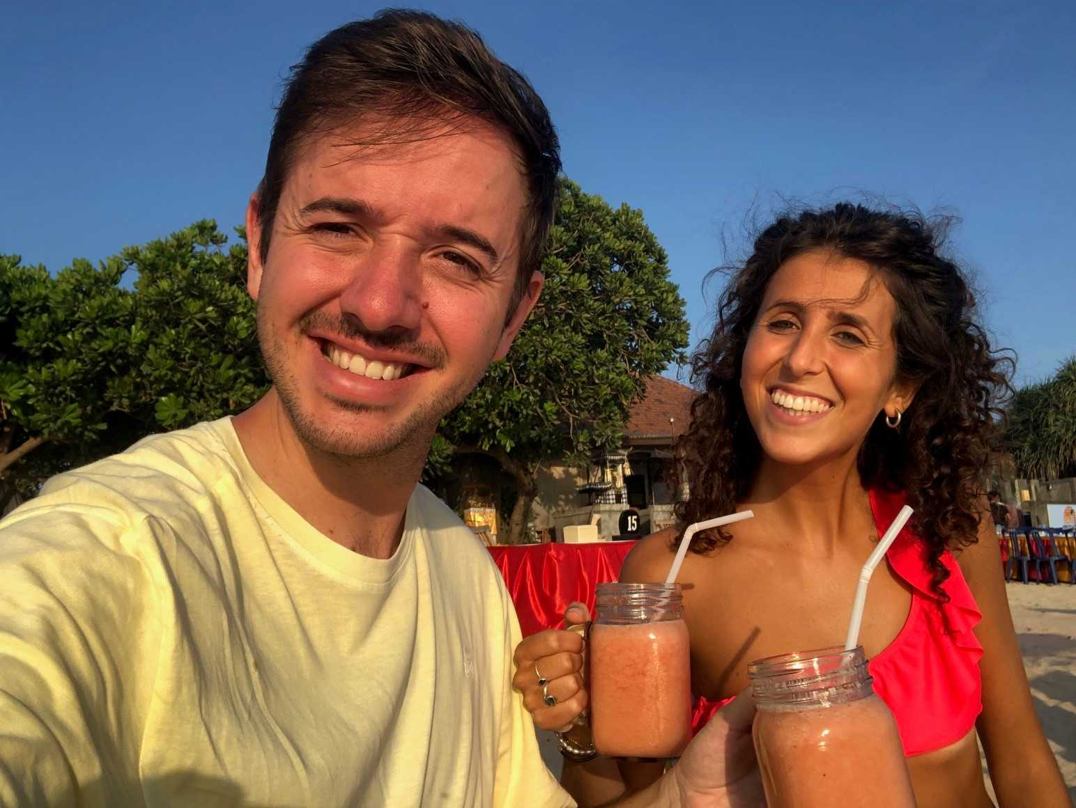 Ruta por Bali - Jimbaran Beach