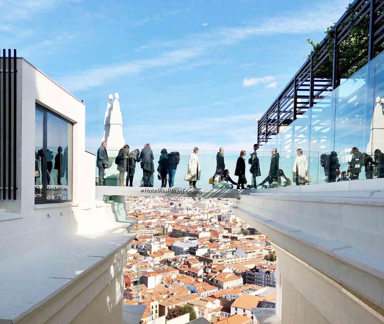 Mejores miradores de Madrid - Hotel Riu